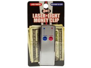 3 In 1 Laser Light Money Clip