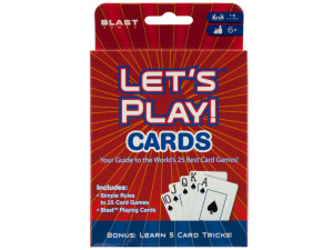 Wholesale: Let's Play Cards All-In-One Game Pack