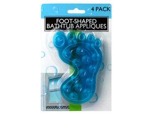 Wholesale: Non-Slip Foot-Shaped Bathtub Appliques