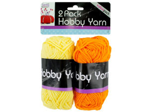 2 pack hobby yarn bright colors