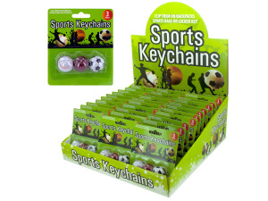 3 pack all sports keychain 36 per pdq