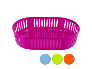 oval basket assorted colors