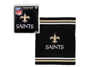 New Orleans Saints Microfiber Eyeglass Cleaning Cloth