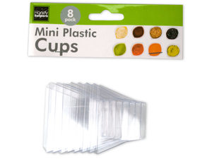 8 pack mini plastic condiment cups