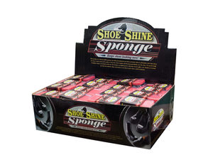 Shoe Shine Sponge, 48 piece