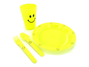 Happy face meal set
