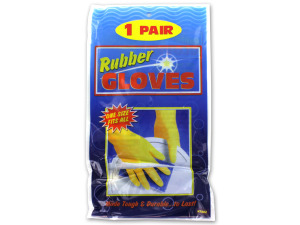 Deluxe rubber gloves