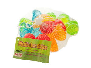 Plastic Fruit Reusable Ice Cubes Set