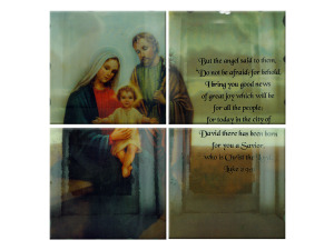 4pc nativity mural 37471
