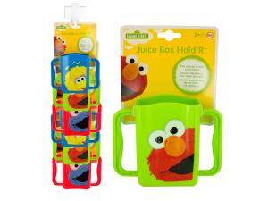 Sesame Street Juice Box Holder Clip Strip
