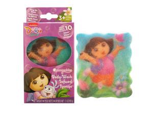 Dora the Explorer Body Wash Infused Sponge