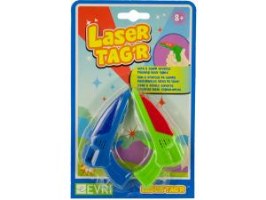 Laser Tag'r Flashing Toy Gun with Sound Effects Set