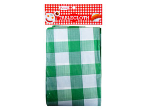 Durable plastic tablecloth