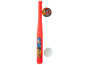 plastic bat & ball