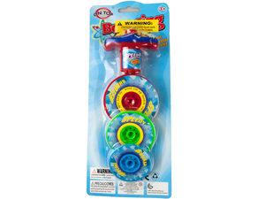 3-Layer Bouncing Top Spinner Toy