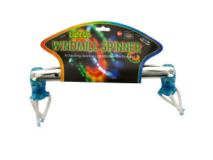 Wholesale: Light Up Windmill Spinner