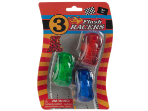 Pull Back Action Race Car Set