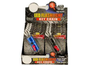 LED Flashlight Key Chain Countertop Display