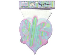 """Birthday Vogue"" plastic banner"