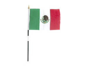 mexico flag 4 x 6 in.