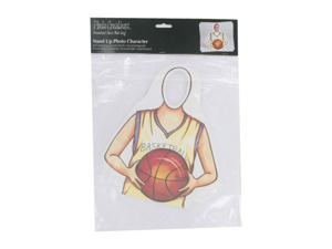 Basketball stand-up character party decoration