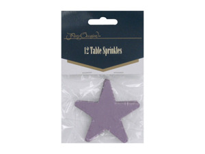 """Tropicana Beach"" star table sprinkles, pack of 12"