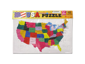 U.S. puzzle for children