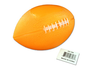 Soft rubber football