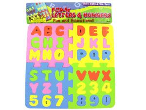 Wholesale: Foam Letter & Number Puzzle
