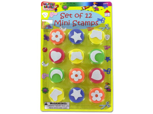 Foam mini stamps