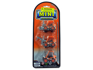 Mini construction vehicles