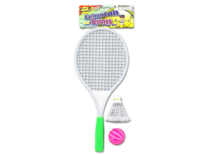 Badminton play set