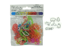 Camping glow-in-the-dark stretchy bands