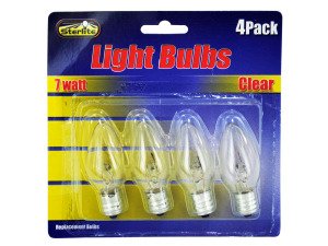 7 Watt light bulbs