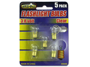 Flashlight bulbs