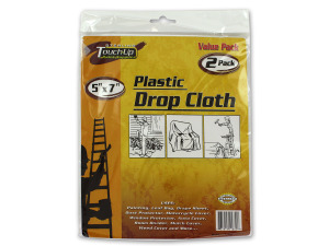 Wholesale: Plastic drop cloth set