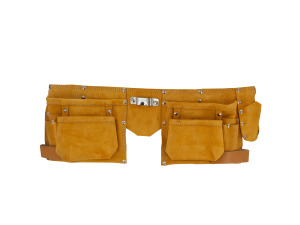 Heavy Duty Suede/Leather Tool Belt