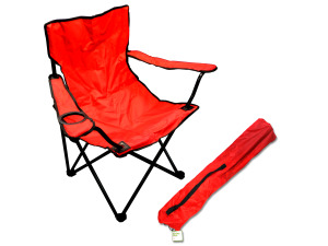 Wholesale: Portable Folding Chair with Drink Holder