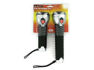2 Pack professional flashlight set