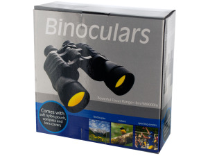 Wholesale: Binoculars with Compass and Pouch