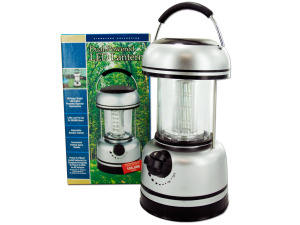 Dual-powered LED lantern
