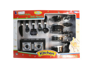 Gourmet kitchen play set