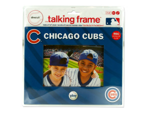 "Chicago Cubs 4"" x 6"" recordable frame"