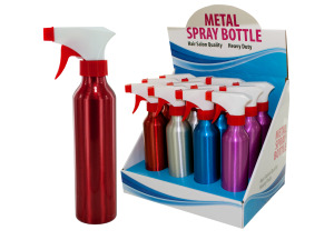 Metal Spray Bottle Counter Top Display