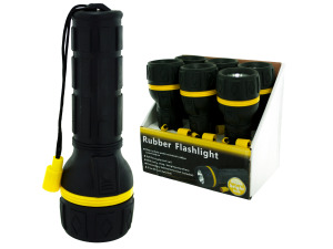 Rubber Flashlight Counter Top Display