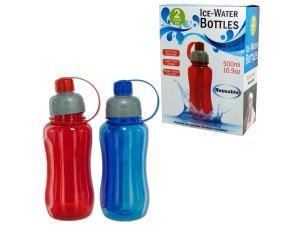 Wholesale: 16.9 oz. Ice Water Bottle Set
