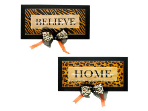 home/believe wall decor