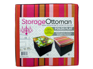 Wholesale: Fabric Storage Ottoman