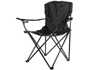 Black Folding Chair With Travel Bag