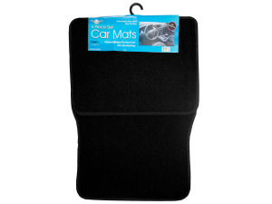 4 Piece Car Mat Set (Fits Most Cars)